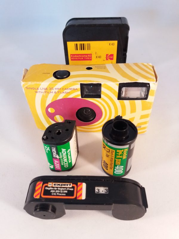 various still film formats