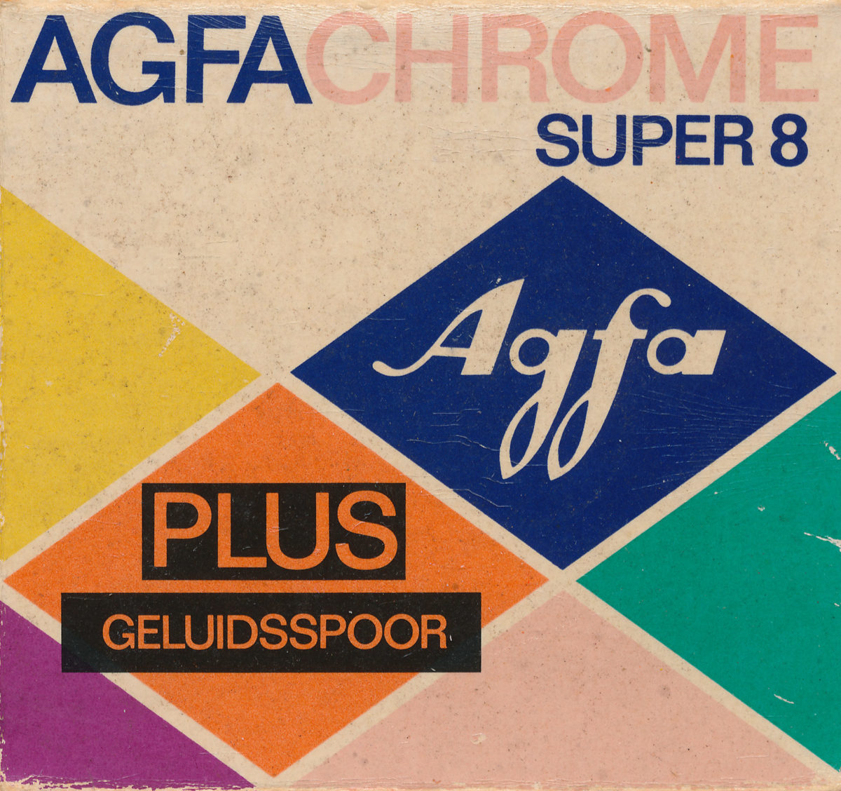 Agfachrome with soundstripe