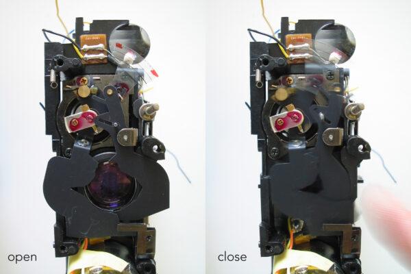 Super8 camera diafragma