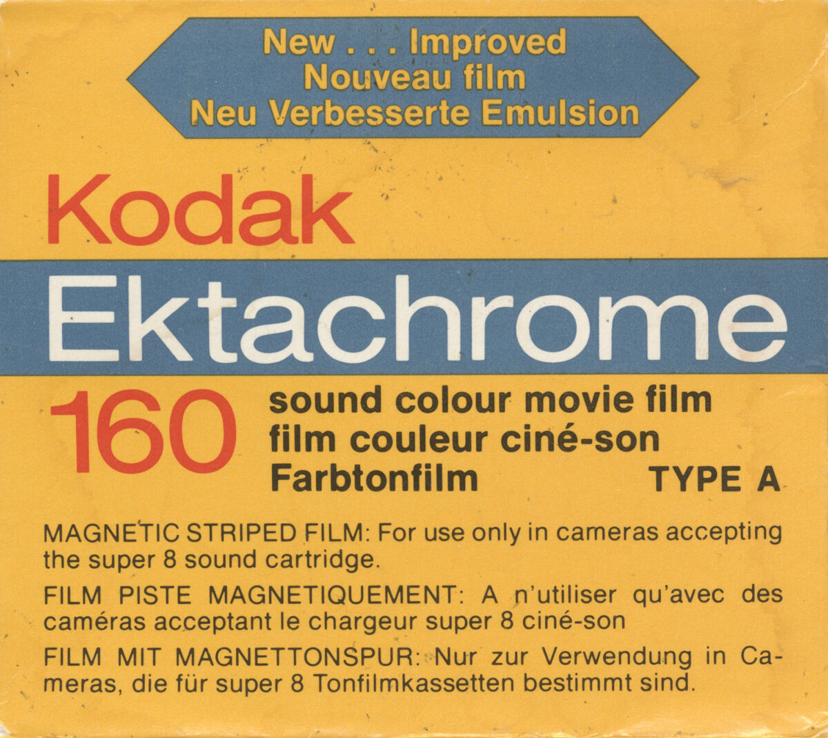 Kodak Ektachrome E160