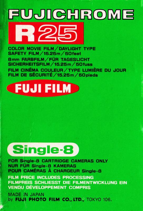 Fujichrome R25